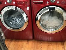 LG Direct Drive Front Load Washer and True Steam Dryer