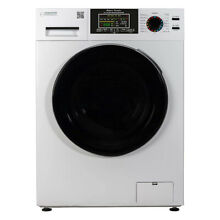 Equator Super Combination All In 1 Vent Ventless Home Washer Dryer Unit  White