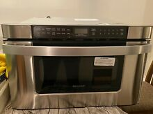 Sharp KB6524PS 1000W Built in Microwave Drawer Oven