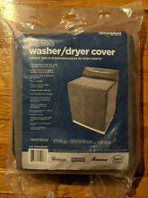 Whirlpool Washer   Dryer Grey Cover Top Load W10214580RP NEW