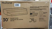 Broan NuTone RL6300 Series 30 in  Under Cabinet Range Hood with Light in White
