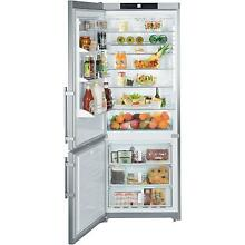 Liebherr CS1611 15 5 cu  ft  Counter Depth Bottom Freezer Left Hand Refrigerator