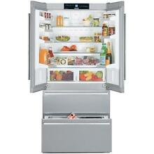 Liebherr CS2062 19 6 cu  ft  Counter Depth French Door Refrigerator Stainless