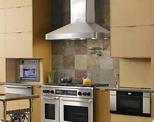 Dacor DHW482 48  Wall Mount Chimney Range Hood