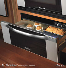 Dacor MWDV30S 30  Warming Drawer with Vertical Stainless Steel Trim