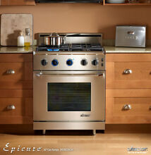 Dacor ER30GISCHNG 30  Freestanding Gas Range Natural Gas