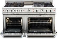Capital CGSR604GB2N 60  Pro Style Gas Range   Natural Gas