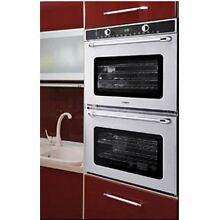Capital MWOV302ES 30  Double Electric Wall Oven Stainless Steel