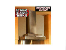 New Vent A Hood CWLH9136 SS Stainless Steel Kitchen Vent Warranty 300 CFM