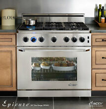 Dacor ER36GSCHNG 36  Freestanding Gas Range Natural Gas