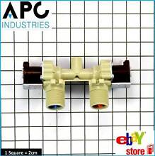 GENUINE LG WASHING MACHINE DUAL WATER INLET VALVE PART   5221EA2001A
