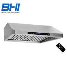 1000CFM 30  Under Cabinet Premium Stainless Steel Kitchen Range Hood Two Motors