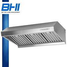 Stainless Steel 36  Wall Mount Range Hood Stove Panel Kitchen Led Control CFM