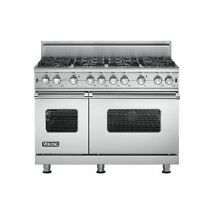 Viking VGCC5488BSS 48  ProStyle Gas Range  Stainless Steel