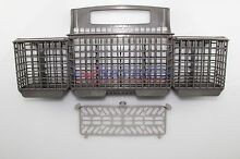 Genuine OEM 8562084 Kenmore Dishwasher Silverware Basket grey or white