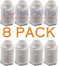 49621 Dryer Leveling Leg Foot for Whirlpool Kenmore New 8 Pack