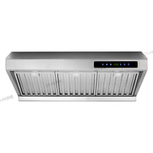 European 36  Wall Mount Stainless Steel Range Stove Hood Vent LED Touch Panel