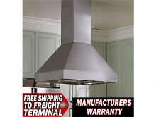 Vent A Hood EPI18242 SS Stainless Island Ventilation Hood 42 Inches 550 CFM