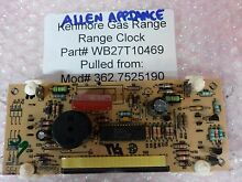 Kenmore Gas Range Clock   Control Board Part   WB27T10469