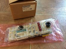 GE Clock Oven Control Part  WB27T10027  WB50T10058  WB27T10080