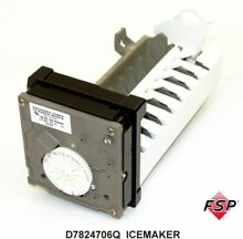Genuine D7824706Q Whirlpool Refrigerator Replacement Icemaker