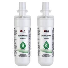 Genuine LG LT700P Refrigerator Water Filter 2 PACK  ADQ36006101  46 9690