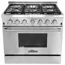 Thor Kitchen 36  Gas Range with 6 Burners HRG3618U