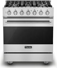 Viking RVDR33015BSS 30  Freestanding Dual Fuel Range Stainless Steel
