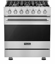 Viking RVGR33025BSS 30  Freestanding Gas Range  Stainless Steel