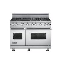Viking VGCC5486GSS 48  ProStyle Gas Range  Stainless Steel