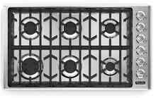Viking VGC5366BSS 36  Gas Cooktop