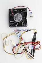 Genuine OEM WR17X13035 GE Refrigerator Qc Fan and Harness Assembly PS3650596