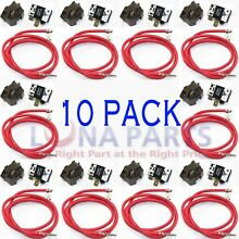 10 PACK  4387535 Refrigerator Relay and Overload for Whirlpool Kenmore compress