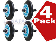 4 Pack  DC97 16782A Drum Support Roller Assembly PS4221885 AP5325135 NEW