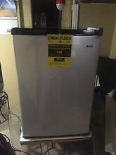4 5 cu  ft  Mini Compact Refrigerator Virtual Steel Finish Door Refrigerator