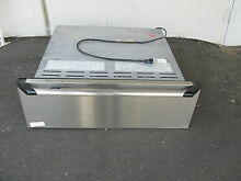 NEW Dacor Epicure EWO30SBK 30  Warming Oven with 1 55 Cubic Feet Stainless Steel