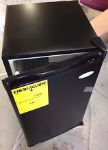 REFRIGERATOR  COOL TEC 3 1 CUBIC FT  BLACK