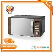 Swan 20L Digital Display Microwave With 5 Power level 800w In Copper SM22090COPN