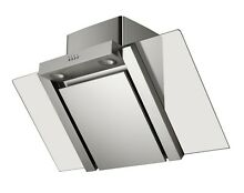 MILLAR KH901V AS 90cm Stainless Steel Angled Kitchen Cooker Extractor Hood