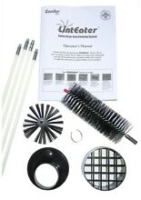 LintEater 4 25 in Dryer Vent Cleaning System Pellet Stove Rotary Gardus Cleaner