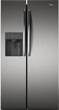 Whirlpool WRS49AKDWC Side by Side Refrigerator 220 240 Volts 50Hz Export Only