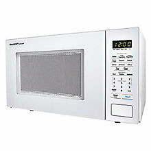 SHARP Microwave Oven White 1000W  R309YW