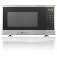 Kenmore 0 9 cu ft  Stainless Steel Countertop Microwave Oven warm Up Dorm Room