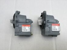 2 x Genuine LG Steam Washer Dryer Combo Water Drain Pump WD 12570FD WD 12576FD