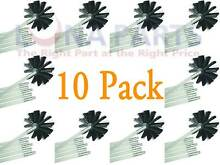 10 Pack Dryer Duct Cleaning Kit 12  Clear Clean Flexible Cleaner Vent Lint Brush
