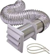 ORGL 5805239 Lambro 1359W Louvered Dryer Vent Kit  5 Pieces  4 in X 8 ft