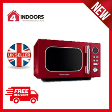 Morphy Richards 511512 Accents 800W 23L Digital  Microwave in Red   Brand New