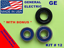 FRONT LOAD WASHER 2 TUB BEARINGS AND SEAL GE GENERAL ELECTRIC KIT12 WH45X10071
