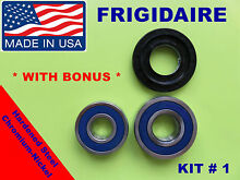 FRONT LOAD WASHER 2 TUB BEARINGS AND SEAL Frigidaire Beaumark  KIT   1