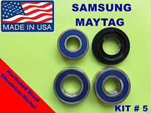 SAMSUNG FRONT LOAD WASHER 3 TUB BEARING   SEAL MAYTAG  KIT   5 DC62 00156A